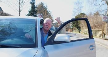 Vrede bilister vinder frem