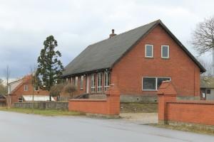 Den tidligere skole i Lille Binderup