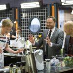 Mads Cortsen, Masterchef 2015, Program 21. Fødevarerminister Dan Jørgensen er i studiet. Foto: TV3