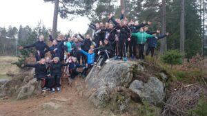 ØH Gym Team i den norske natur