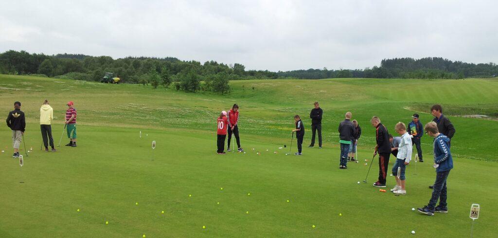 Golf, aktiv ferie
