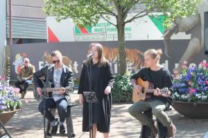 Bullyfix Bandits & Trine Dusine ved Ventilens event på Nytorv i Aalborg