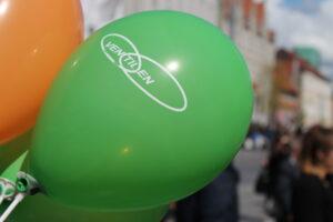 Med til ethvert godt Ventilen-arrangement hører balloner :-)