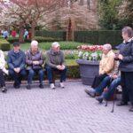 Tiltrængt hvil i blomsterparken Keukenhof