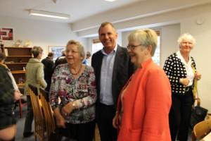 Inger Asp, Anders Ladekarl og Aase Bertelsen