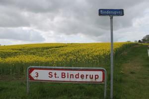 På vej mod St. Binderup