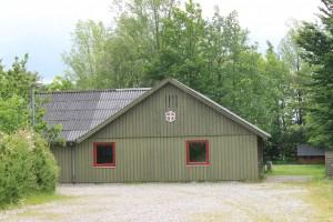 Veggerby FDF's klubhus ligger i nabolandsbyen Kirketerp.
