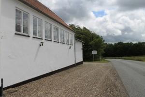 Den tidligere Veggerby Skole har siden 1995 været Bed & Breakfast