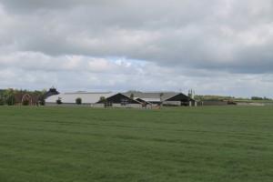 Veggerby er en lille landsby med flere store landbrug