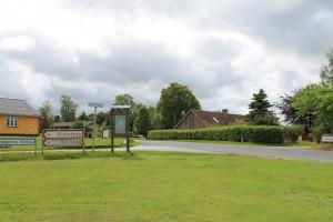 Der er ikke langt fra Veggerby til nabolandsbyerne Kirketerp og Byrsted
