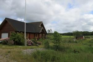 Landsby idyl i Himmerlandsbyen i Aarestrup