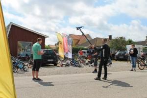Michael Stærke er klar til at rapportere live fra Øster Hurup tirsdag den 21. juli
