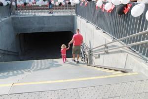"""""""Borgmesterens Undergang"""" fungerer nu efter hensigten - næste skridt bliver at få tilladelse til at udsmykke de grå betonvægge"""