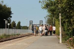 Mange tog imod tilbuddet om Bridgewalking