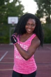Terricka underviser på Bavnebakkeskolen i tre fitness-discipliner
