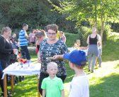 Høstfest for tre generationer i Kløvermarken