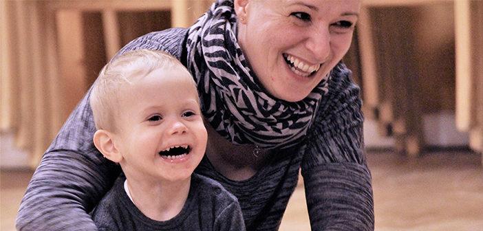 Musik, glæde og samvær i centrum på småbørns- hold