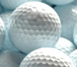 white golf balls can be used as background