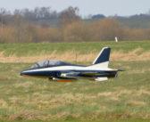 Mange modelfly i luften over Støvring, – trods blæsevejr!