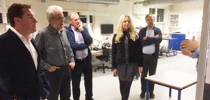 MEP Jens Rohde lyttede til kvalitet på Dali i Nørager
