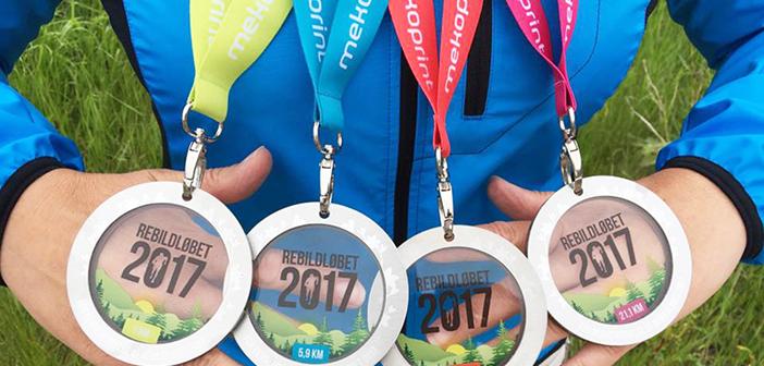 Danmarks måske smukkeste medaljer uddeles ved Rebildløbet 9. juni