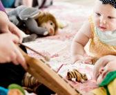 De smås smil: Baby-salmesang