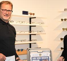 Lokale Lions-folk samler også briller mellem de landsdækkende valg – efterfantastisk rekord..!