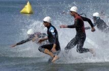 triathlon sport motion